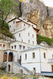 Buildings of Saint Uspensky Cave Monastery, Crimea Royalty Free Stock Photography