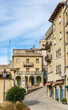 Buildings in San Marino Royalty Free Stock Image