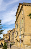 Buildings in San Marino Royalty Free Stock Photo