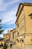 Buildings in San Marino Royalty Free Stock Photo