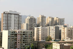 Buildings in Santiago de Chile Stock Photography