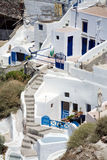 Buildings Santorini Greece Stock Photography