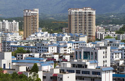 Buildings in Sanya, Hainan Royalty Free Stock Photography