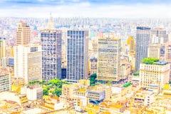 Buildings in Sao Paulo Royalty Free Stock Image
