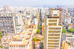 Buildings in Sao Paulo Royalty Free Stock Images
