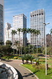 Buildings sao paulo city. Royalty Free Stock Image