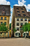 Buildings in Schaffhausen HDR Royalty Free Stock Photography