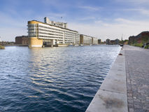 Buildings and sea in Copenhagen Stock Image