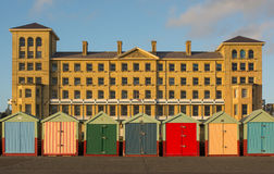 Buildings on seafront at Hove, Brighton, England Stock Photos
