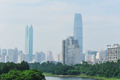 Buildings in shenzhen Royalty Free Stock Image