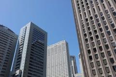 Buildings at Shinjuku, Tokyo, Japan 2016 Royalty Free Stock Photography