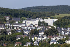 Buildings in Siegen, Germany Stock Photo