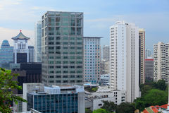 Buildings at Singapore Royalty Free Stock Photos