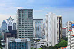 Buildings at Singapore Stock Images