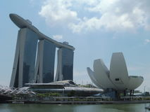 Buildings in Singapore. City of Singapore Stock Photography