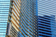 Buildings in Singapore city Royalty Free Stock Photo