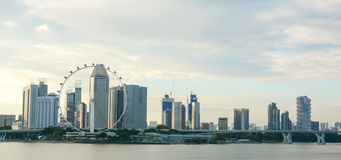 Buildings in Singapore Stock Photography