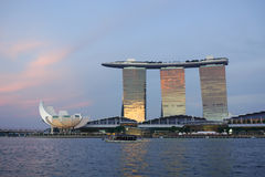 Buildings in Singapore Royalty Free Stock Photos