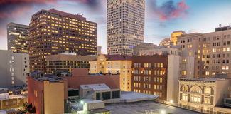 Buildings and skyline of New Orleans, Lousiana Stock Photo