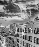 Buildings and skyline of New Orleans, Lousiana Royalty Free Stock Photos