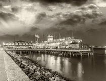 Buildings and skyline of New Orleans, Lousiana Royalty Free Stock Image