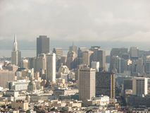 Buildings and Skyline of San Francisco Royalty Free Stock Photos