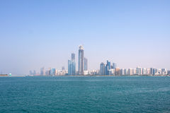 Buildings And Skyscrapers In Abu Dhabi Downtown. Stock Image