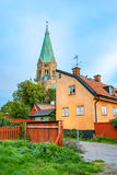 Buildings at Sodermalm. Stockholm. Sweden Stock Image