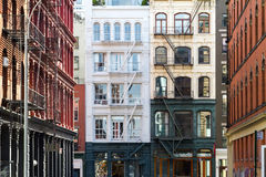 Buildings in Soho Manhattan, New York City Stock Photography