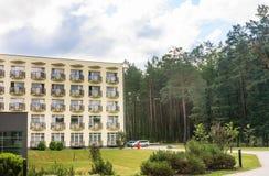 Buildings of the Spa Resort Medical  sanatorium.  Druskininkai Stock Image