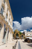 Buildings on the Stanislas place in Nancy the golden city. Royalty Free Stock Image