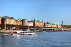 Buildings in Stockholm Stock Photography