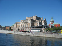 Buildings in Stockholm (Sweden) Royalty Free Stock Photos