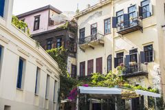 Old buildings in Chania Royalty Free Stock Photography