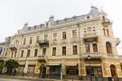 Buildings on  street of Tbilisi - Georgia Royalty Free Stock Image