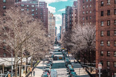 Buildings and streets near Midtown Manhattan, New York City Stock Images