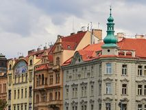 Buildings and Streets of Prague, Czech Republic.  Stock Photography