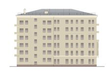 Buildings and structures of the early and mid twentieth century Stock Photo