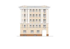 Buildings and structures of the early and mid twentieth century Stock Image