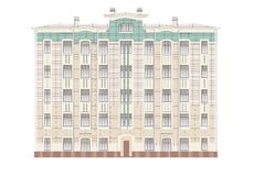 Buildings and structures of the early and mid twentieth century Stock Photos