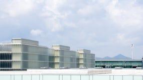 Buildings of Terminal airport Stock Photos