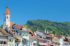 Buildings of Thun Royalty Free Stock Images