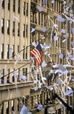 Buildings in Ticker Tape Parade, New York City, New York Royalty Free Stock Photo