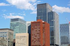 buildings tokyo Στοκ εικόνα με δικαίωμα ελεύθερης χρήσης