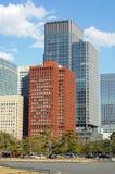 Buildings in Tokyo. Groups of building in Tokyo, Japan Royalty Free Stock Image