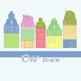 Buildings in town Royalty Free Stock Images