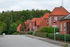 Town of Soroe in Denmark Royalty Free Stock Image