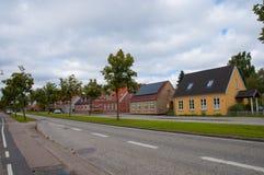 Town of Soroe in Denmark Stock Photo