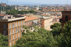 Buildings in Trastevere (Rome, Italy) Stock Photos