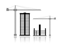 Buildings Under Construction Royalty Free Stock Photo